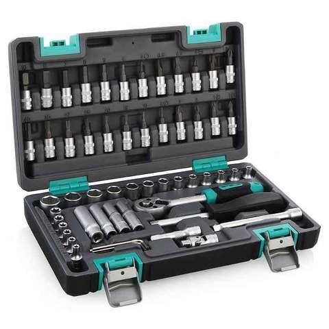 """Набор инструментов ¼"""" STELS Tool Set [57 предметов] 14101"""