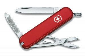Нож складной карманный Victorinox Ambassador, Функционал: Туризм, Кол-во функций: 7 в 1, Цвет: Красный, (0.650