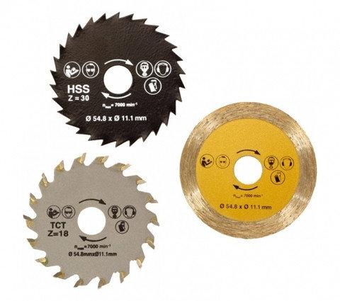 Комплект дисков для универсальной пилы Rotorazer Saw, фото 2