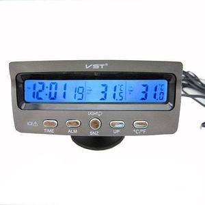 Термометр-часы электронный [3 в 1] VST-7045 с иллюминаторной подсветкой