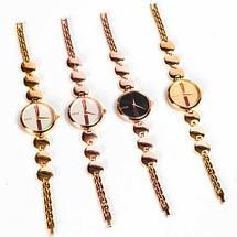 Часы наручные женские реплика GUCCI No.5412 (Жёлтое золото, белый циферблат), фото 2