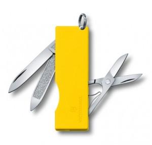Нож складной карманный Victorinox TOMO, Кол-во функций: 5 в 1, Цвет: Жёлтый, (0.6201.A8)