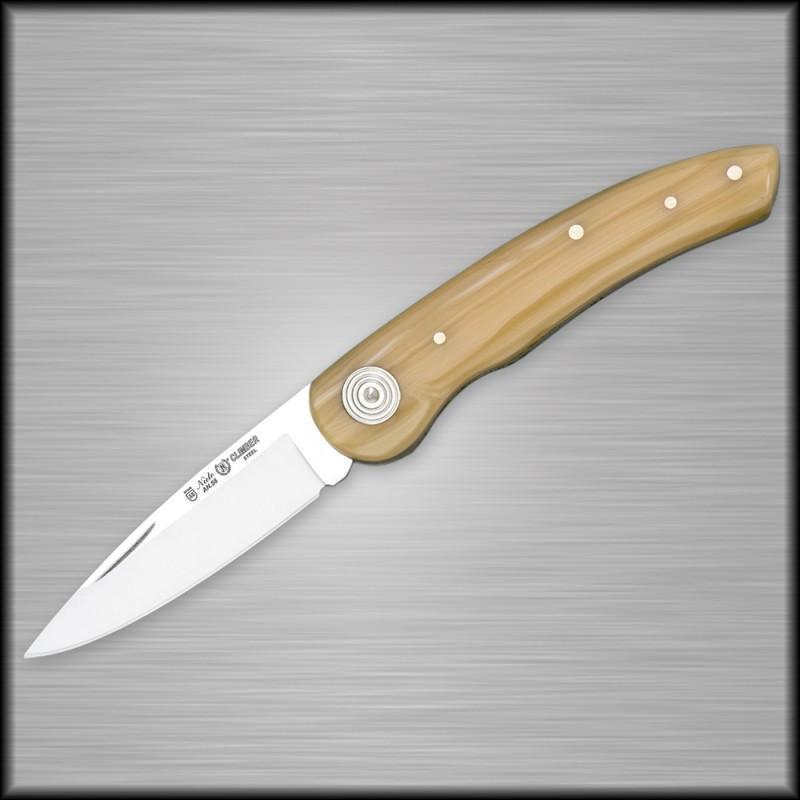 Нож складной Miguel Nieto Climber 407, Общая длина: 155 мм, Длина клинка: 65 мм, Материал клинка: Сталь AN-58,