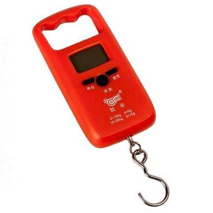 Весы-безмен электронные с крючком и жесткой ручкой, фото 2