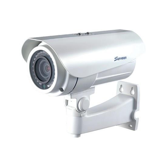 Камера IP цилиндрическая Surveon CAM3471V, Разрешение: 3 Mpi dpi, Тип объектива: вариофокальный f= 2,8 - 12 мм