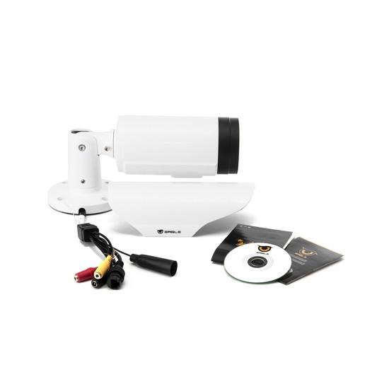 Камера IP цилиндрическая Eagle EGL-NBL370, Разрешение: 2 Mpi dpi, Тип объектива: вариофокальный f= 2,8 - 12 мм