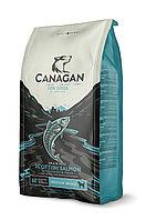 CANAGAN Grain Free, Scottish Salmon, корм 2 кг для собак всех возрастов и щенков, Шотландский лосось