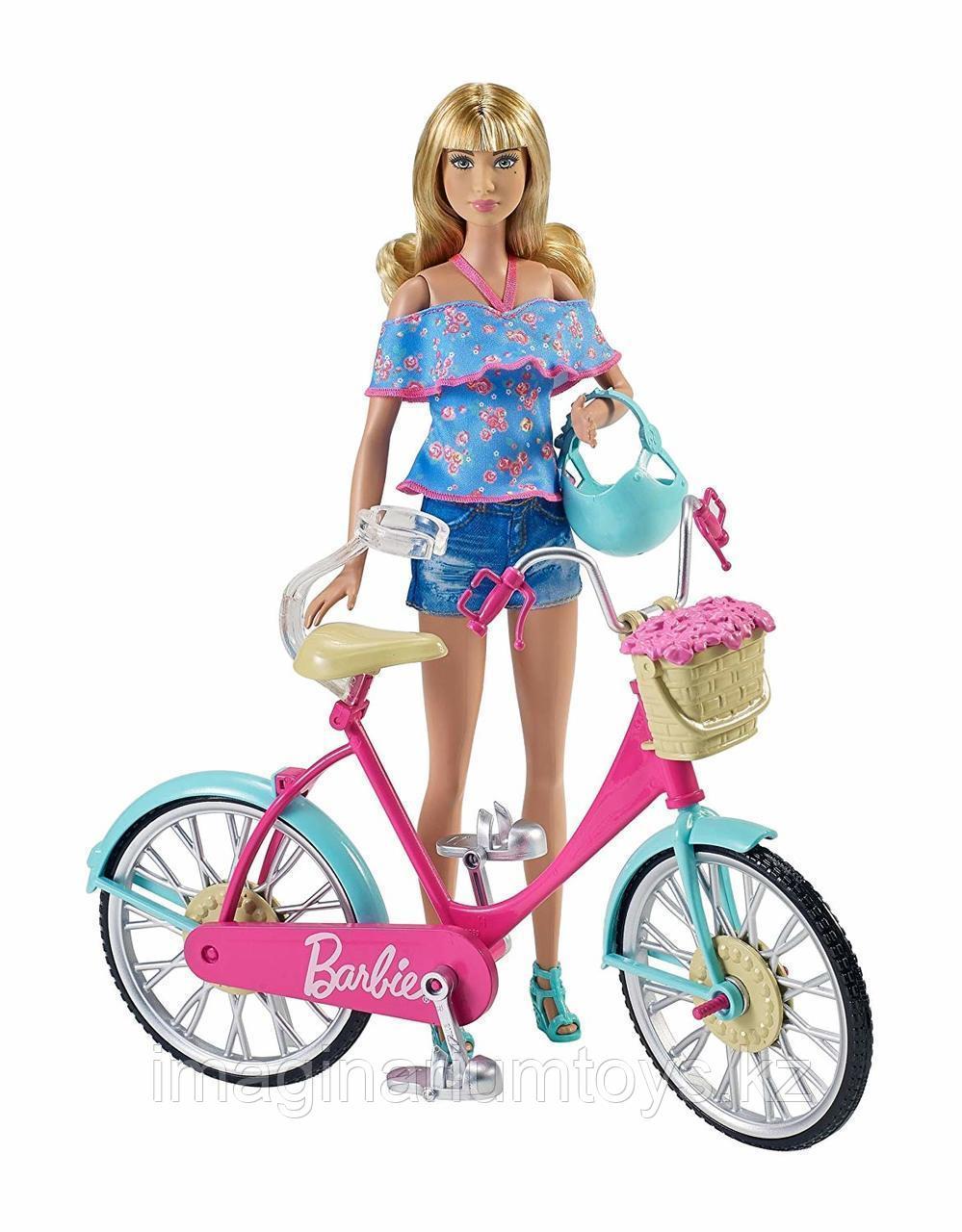 Игровой набор Велосипед для куклы Барби