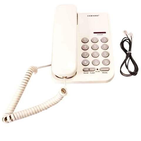 Телефон стационарный проводной ORIENTEL KX-T1333P/T (Белый)
