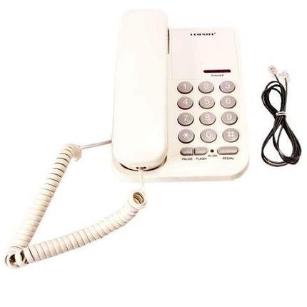 Телефон стационарный проводной ORIENTEL KX-T1333P/T (Белый), фото 2