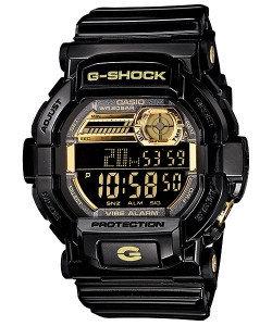 Часы электронные наручные мужские Casio G-SHOCK GD-350BR-1DR, Механизм: Кварц, Браслет: Ремешок из полимерного