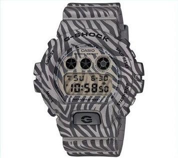 Часы электронные наручные мужские Casio G-SHOCK DW-6900ZB-8DR, Механизм: Кварц, Браслет: Ремешок из полимерног