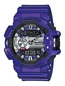 Часы электронные наручные мужские Casio G-SHOCK GBA-400-2A , Механизм: Кварц, Браслет: Ремешок из полимерного