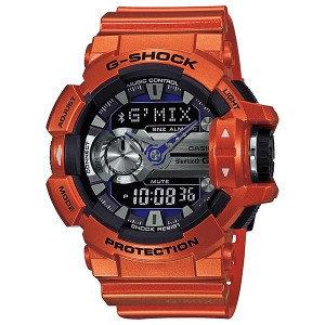 Часы электронные наручные мужские Casio G-SHOCK GBA-400-4BER, Механизм: Кварц, Браслет: Ремешок из полимерного