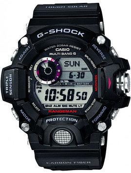 Часы электронные наручные мужские Casio G-SHOCK GW-9400-1ER, Механизм: Кварц, Браслет: Ремешок из полимерного