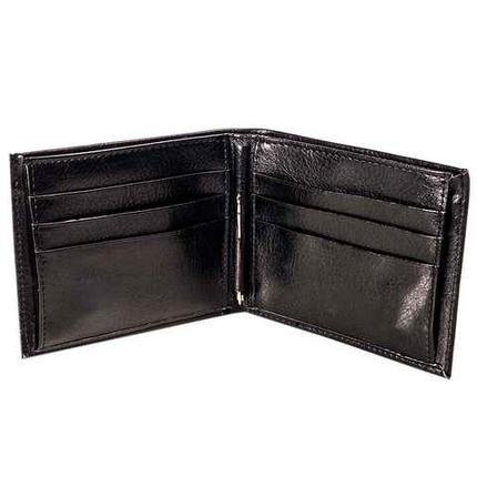 Бумажник двойного сложения мужской с зажимом для купюр GIORGIO ARMANI, фото 2