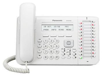 Системный телефон цифровой Panasonic KX-DT543 RU, Цвет: Белый