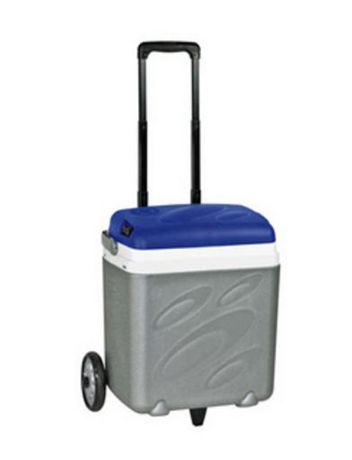 Автохолодильник термоэлектрический EZetil Рrofessional Trolley, Вместимость: 30 л, Электропитание: 12 В/220 В,