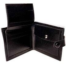 Бумажник двойного сложения с национальным узором мужской, фото 3
