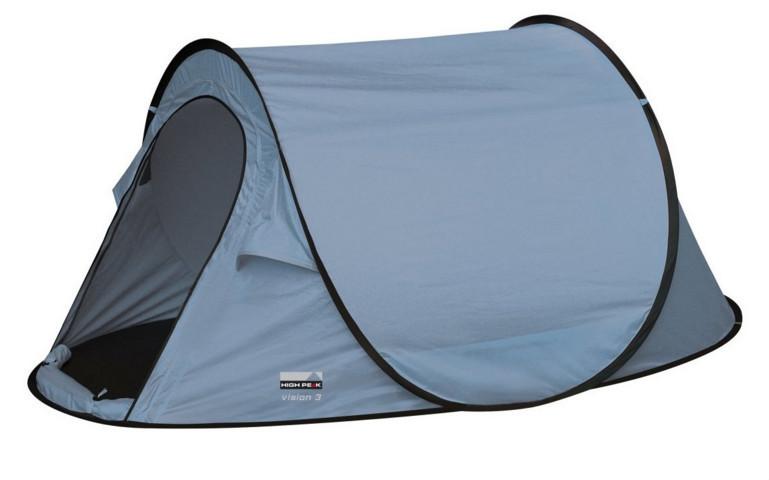 Палатка трекинговая (равнинная) High Peak Vision 3, Кол-во человек: 3, Входов/комнат: 1/1, Тамбуров: Нет, Внут - фото 1