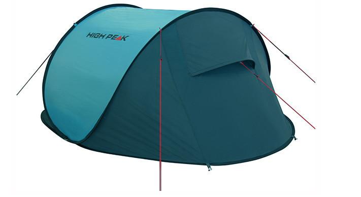 Палатка трекинговая (равнинная) High Peak Vision 3, Кол-во человек: 3, Входов/комнат: 1/1, Тамбуров: Нет, Внут - фото 7