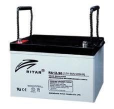 Батарея необслуживаемая (аккумулятор) Ritar RA12-90 (12V 90 Ah), Емкость аккумулятора: 90 Ah, Разъемы: F12/F15
