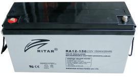 Батарея необслуживаемая (аккумулятор) Ritar RA12-150 (12V 150 Ah), Емкость аккумулятора: 150 Ah, Разъемы: F5/F