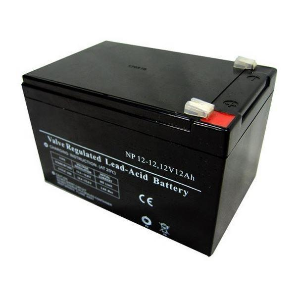 Батарея необслуживаемая (аккумулятор) SVC AV 12V 12A (12V 12 Ah), Емкость аккумулятора: 12 Ah, Разъемы: F1/F2