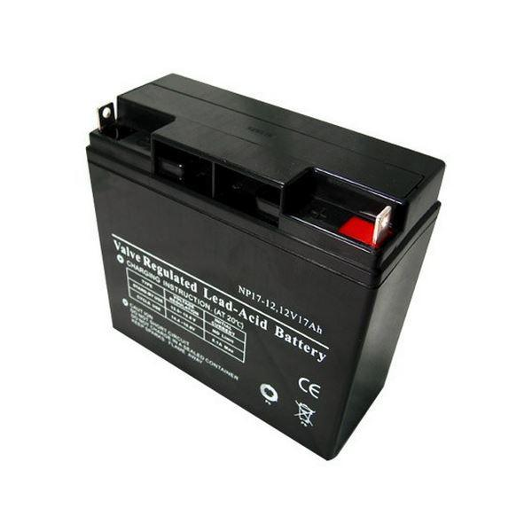 Батарея необслуживаемая (аккумулятор) SVC NP 12V 17A (12V 17 Ah), Емкость аккумулятора: 17 Ah, Разъемы: T3