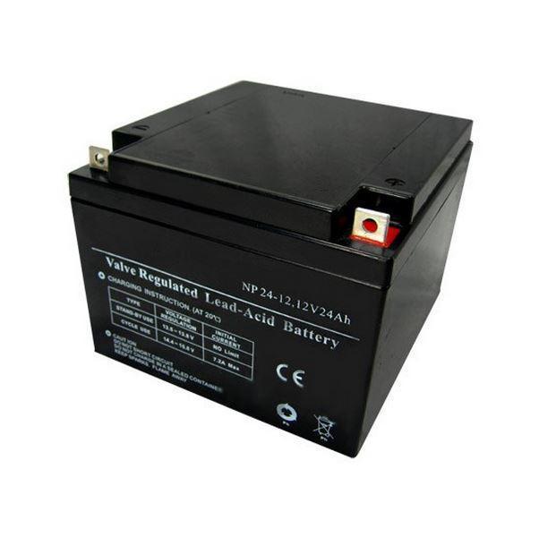 Батарея необслуживаемая (аккумулятор) SVC NP 12V 24A (12V 24 Ah), Емкость аккумулятора: 24 Ah, Разъемы: T3