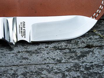 Нож фиксированный Cold Steel Custom Quality Pendleton Hunter, Общая длина: 210 мм мм, Толщина лезвия: 5 мм, Дл