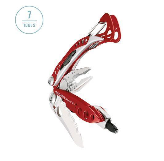 Мультитул полноразмерный Leatherman Skeletool RX, Кол-во функций: 7 в 1, Цвет: Красный, (RX)