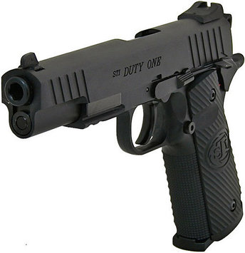 Пистолет для страйкбола ASG STI Duty One, Калибр: 4,5 мм (.177, BB), Дульная энергия: 1,6-2,0 Дж, Ёмкость мага