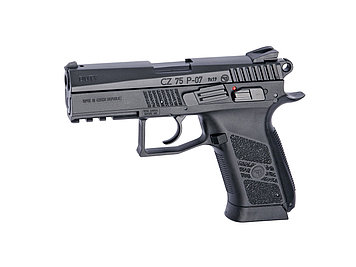 Пистолет для страйкбола ASG CZ 75 P-07 Duty, Калибр: 4,5 мм (.177, BB), Дульная энергия: 1,4 Дж, Ёмкость магаз