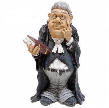 Статуэтка декоративная RMV Адвокат, Высота: 260 мм, Материал: Полимер, Цвет: Телесный (фигурка), серый (одежда