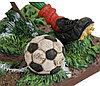 Статуэтка декоративная Forchino Футболист, Высота: 360 мм, Материал: Полистоун, Цвет: Разноцветный, (FO85516), фото 5