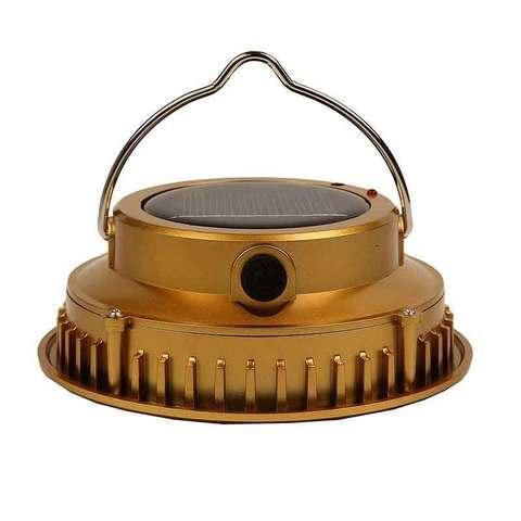 Фонарь кемпинговый светодиодный на солнечной батарее (HS-2868)