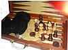 Настольные игры 3 в 1 ARMS D-9341, Корпус: Дерево, Покрытие: Глянцевый лак, Кубиков: 5 шт., Высота фигур: От 5, фото 2