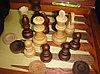 Настольные игры 3 в 1 ARMS D-9341, Корпус: Дерево, Покрытие: Глянцевый лак, Кубиков: 5 шт., Высота фигур: От 5, фото 3