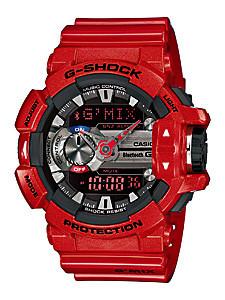 Часы электронные наручные мужские Casio G-SHOCK GBA-400-4A, Механизм: Кварц, Браслет: Ремешок из полимерного м