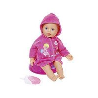 Кукла my little BABY born быстросохнущая с горшком  и бутылочкой, 32 см, дисплей (Игрушка my little BABY born Кукла быстросохнущая с горшком и