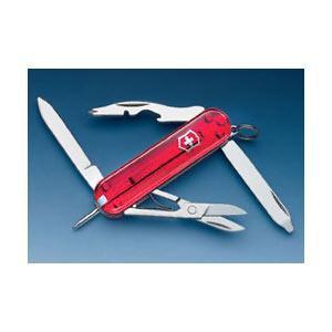 Нож складной карманный Victorinox Manager, Кол-во функций: 10 в 1, Цвет: Красный (полупрозрачный), (0.6365Т)