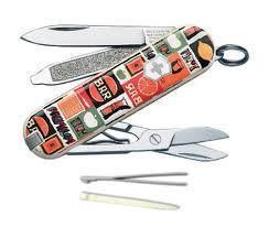 Нож складной карманный Victorinox Tropical Juice, Функционал: Туризм, Кол-во функций: 7 в 1, Цвет: Разноцветны