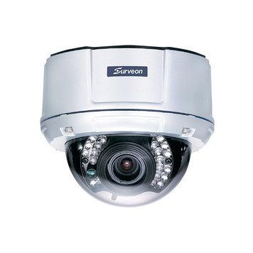 Камера IP купольная Surveon CAM4361, Разрешение: 2 Mpi dpi, Тип объектива: вариофокальный f= 2,8 - 12 мм, Цвет
