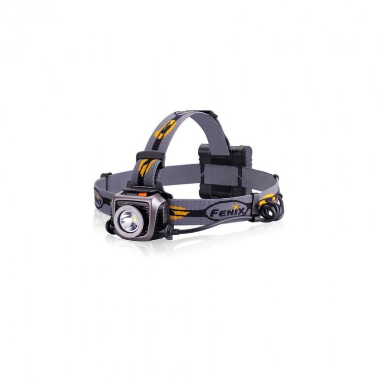 Фонарь электрический налобный Fenix HP15 Ultimate Edition, Дальность луча: 178 м, Яркость: 900 (турбо), 400 (я