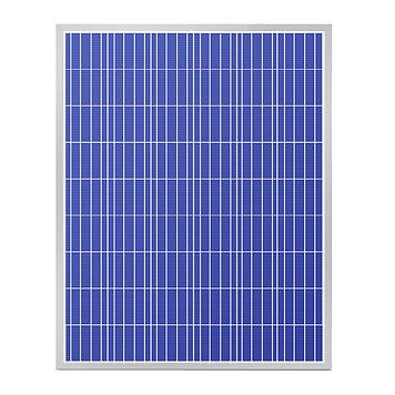 Солнечная панель поликристалическая SVC P-250, Мощность: 250 Вт, Напряжение: 24В, Цвет: Синий, Упаковка: Короб