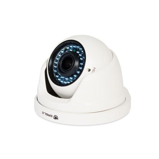 Камера IP купольная Eagle EGL-NDM485, Разрешение: 4 Mpi dpi, Тип объектива: вариофокальный f= 2,8 - 12 мм, Цве