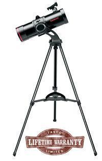 Телескоп рефлекторный Tasco Spacestation 114ST, Фокусное растояние: 500 мм, Увеличение (макс): 375 x, Линза Ба