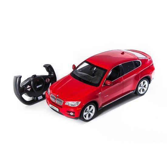 Радиоуправляемая модель автомобиль Rastar BMW X6, 1:14, Управление: Джойстик, Материал: Пластик, Цвет: Красный