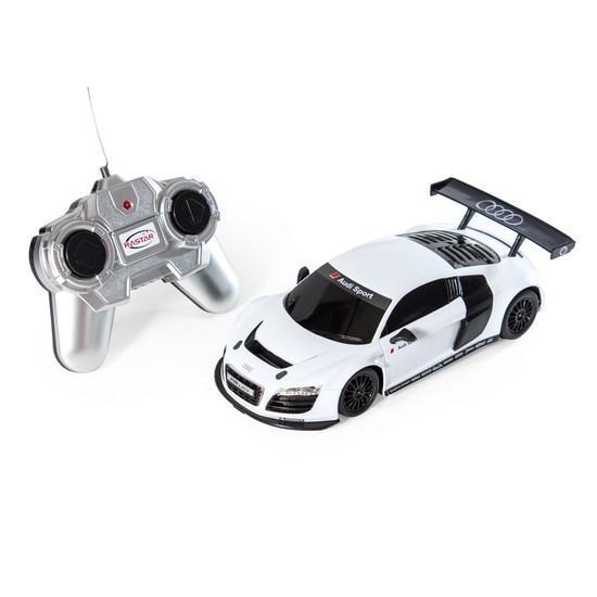 Радиоуправляемая модель автомобиль Rastar AUDI R8, 1:24, Управление: Джойстик, Материал: Пластик, Цвет: Белый,